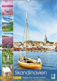 9783665731434 - CALVENDO: Skandinavien: Magische Landschaften (Wandkalender 2018 DIN A2 hoch) - Kirja