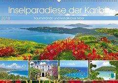 9783665731519 - CALVENDO: Inselparadiese der Karibik (Wandkalender 2018 DIN A2 quer) - Book