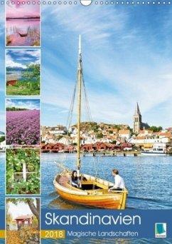 9783665731427 - CALVENDO: Skandinavien: Magische Landschaften (Wandkalender 2018 DIN A3 hoch) - Libro