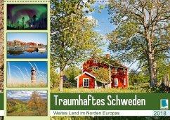 9783665731311 - CALVENDO: Traumhaftes Schweden: Weites Land im Norden Europas (Wandkalender 2018 DIN A2 quer) - Livro