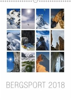 9783665731588 - AG, Calendaria: Bergsport 2018 (Wandkalender 2018 DIN A3 hoch) - Book