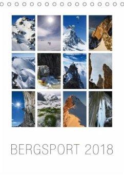 9783665731601 - AG, Calendaria: Bergsport 2018 (Tischkalender 2018 DIN A5 hoch) - كتاب