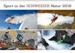 9783665731557 - AG, Calendaria: Sport in der Schweizer Natur 2018 (Wandkalender 2018 DIN A2 quer) - Bok