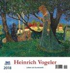 Heinrich Vogeler 2018 Postkartenkalender
