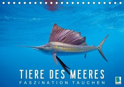 Tiere des Meeres: Faszination Tauchen (Tischkalender 2018 DIN A5 quer)