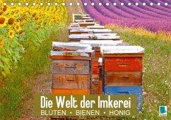 9783665731007 - CALVENDO: Die Welt der Imkerei: Blüten, Bienen, Honig (Tischkalender 2018 DIN A5 quer) - كتاب