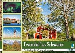 9783665731304 - CALVENDO: Traumhaftes Schweden: Weites Land im Norden Europas (Wandkalender 2018 DIN A3 quer) - Könyv