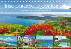 9783665731526 - CALVENDO: Inselparadiese der Karibik (Tischkalender 2018 DIN A5 quer) - كتاب