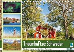 9783665731328 - CALVENDO: Traumhaftes Schweden: Weites Land im Norden Europas (Tischkalender 2018 DIN A5 quer) - Boek