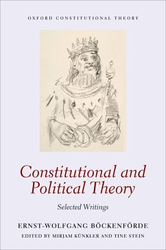 Constitutional and Political Theory (eBook, ePUB) - Böckenförde, Ernst-Wolfgang