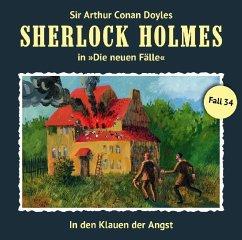 In den Klauen der Angst / Sherlock Holmes - Neue Fälle Bd.34 (1 Audio-CD)