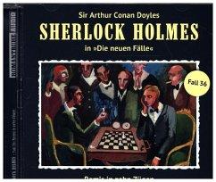 Remis in zehn Zügen / Sherlock Holmes - Neue Fälle Bd.36 (1 Audio-CD)