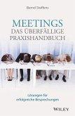 Meetings - das überfällige Praxishandbuch (eBook, ePUB)
