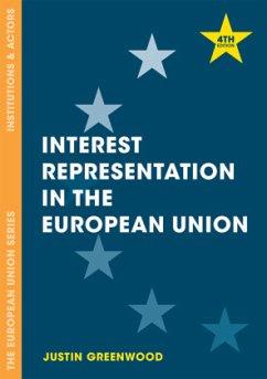 Interest Representation in the European Union - Greenwood, Justin