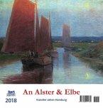 An Alster und Elbe 2018 Postkartenkalender