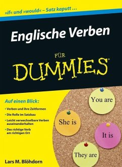 Englische Verben für Dummies (eBook, ePUB) - Blöhdorn, Lars M.
