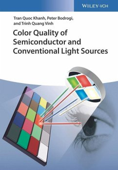 Color Quality of Semiconductor and Conventional Light Sources (eBook, ePUB) - Vinh, Trinh Quang; Bodrogi, Peter; Khanh, Tran Quoc
