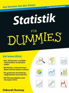 Statistik für Dummies (eBook, ePUB) - Rumsey, Deborah J.