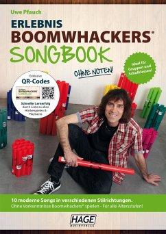 Erlebnis Boomwhackers® Songbook, m. MP3-CD - Pfauch, Uwe