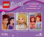 LEGO Friends Hörspielbox, 3 Audio-CD