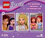 LEGO Friends Hörspielbox, 3 Audio-CD