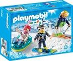PLAYMOBIL® 9286 Freizeit-Wintersportler