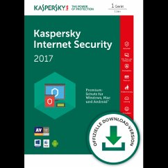 Kaspersky Internet Security 2017 (Download für ...