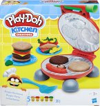Hasbro B5521EU6 - Play-Doh, Burger Party, Burger Barbecue, Spiel-Set, Knete