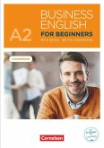 Business English for Beginners A2 - Kursbuch mit Audios online als Augmented Reality