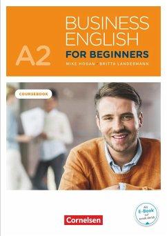 Business English for Beginners A2 - Kursbuch mit Audios online als Augmented Reality - Hogan, Mike; Landermann, Britta