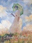 Claude Monet 2018. Kunst Gallery Kalender