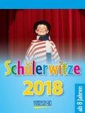Schülerwitze 2018 Tages-Abreisskalender