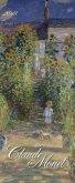 Claude Monet 2018. Kunst Vertikal Kalender