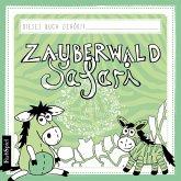 Malbuch Kinder: Die Zauberwald Safari
