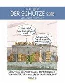 Der Schütze 2018. Sternzeichen-Cartoonkalender