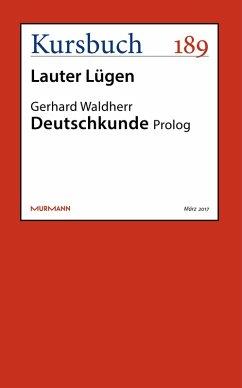 Deutschkunde (eBook, ePUB) - Waldherr, Gerhard