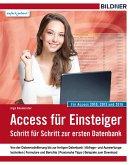 Access für Einsteiger - für Access 2010, 2013 und 2016 (eBook, PDF)