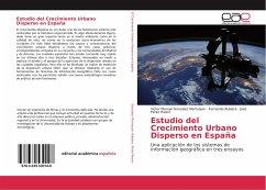 Estudio del Crecimiento Urbano Disperso en España