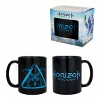 "Horizon: Zero Dawn - Kaffeebecher / Tasse - ""Logo / Arrow"" - Schwarz"