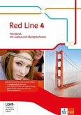Red Line. Workbook mit Audio-CD und Übungssoftware 8. Schuljahr. Ausgabe 2014