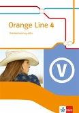 Orange Line 4. Vokabeltraining aktiv mit Lösungsheft. Erweiterungskurs. Klasse 8. Ausgabe 2014