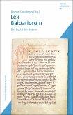 Lex Baioariorum (eBook, PDF)