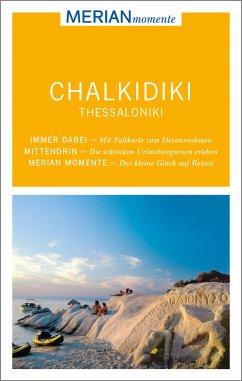 MERIAN momente Reiseführer Chalkidiki, Thessaloniki (Mängelexemplar)
