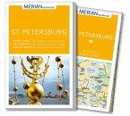 MERIAN momente Reiseführer St. Petersburg (Mängelexemplar)