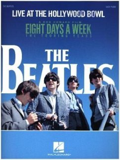 The Beatles: Live At The Hollywood Bowl (Easy Piano) - The Beatles