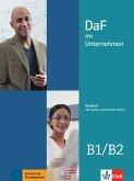 DaF im Unternehmen B1-B2. Kursbuch + Audios und Filme online