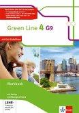 Green Line 4 G9. Workbook mit Audio-CD und Übungssoftware Klasse 8
