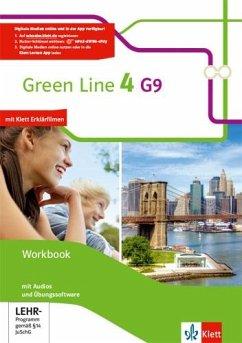 Green Line 4 G9. Workbook mit Audio-CD und Übungssoftware 8. Klasse. Ausgabe ab 2015