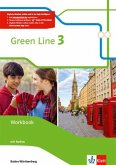 Green Line. Workbook mit Audio-CDs 7. Klasse. Ausgabe Baden-Württemberg ab 2016