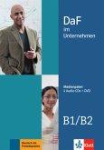 4 Audio-CDs + DVD / DaF im Unternehmen .B1-B2